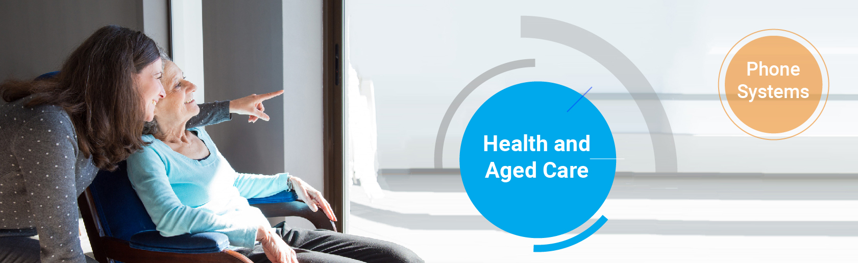 Health and agedcare phone system